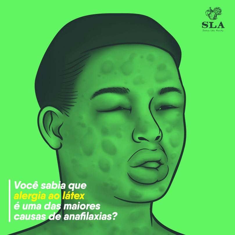 Você sabia que alergia ao látex é uma das maiores causas de anafilaxias?